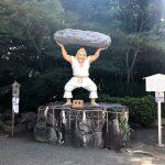戸明神社の天手力推大神様