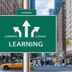 E-LEARNINGグリーンの標識